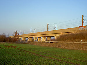 Hanover–Würzburg high-speed railway - Bridge near Barnten
