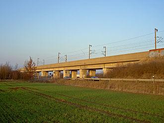 Hanover–Würzburg high-speed railway - Bridge near Barnten