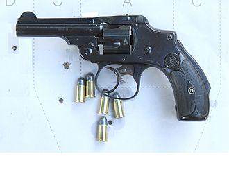 Smith & Wesson Safety Hammerless - Image: Ndwik