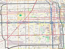 Permit Parking Chicago Map.Near West Side Chicago Wikipedia