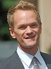 Photo of Neil Patrick Harris at the unveiling of his star of the Hollywood Walk of Fame in 2011.