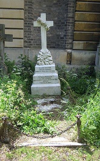 Robert Soutar - Soutar's grave in Brompton Cemetery