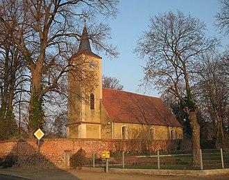Nennhausen - Image: Nennhausen church