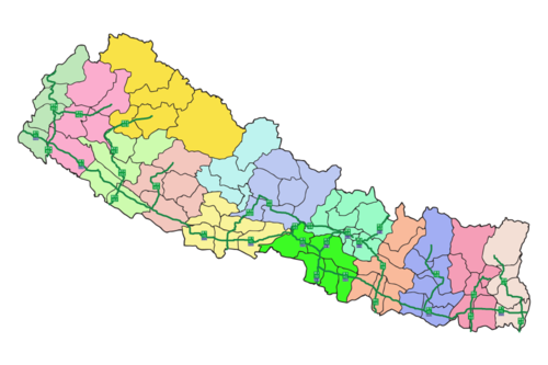 List of roads in nepal wikipedia nepal national highways mapg publicscrutiny Image collections