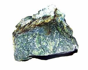 Nephrite - Nephrite from Jordanów Śląski (Poland)