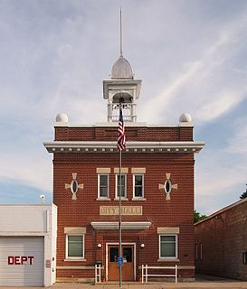 Nerstrand City Hall United States historic place