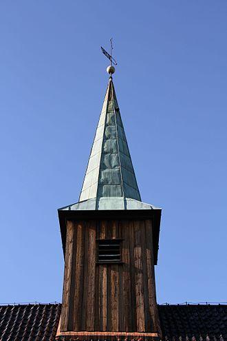 Nesodden - Nesodden Church steeple