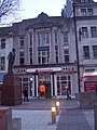 New livery of Santander bank in Queen Street - geograph.org.uk - 1710760.jpg