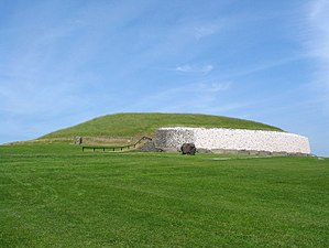Archaeoastronomy - The rising Sun illuminates the inner chamber of Newgrange, Ireland, only at the winter solstice.