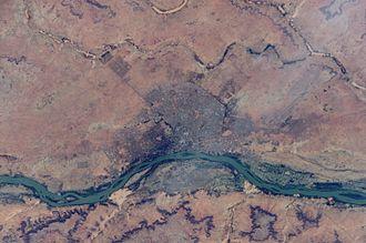 Niamey - Astronaut View of Niamey