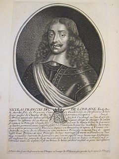 Nicholas Francis, Duke of Lorraine Catholic cardinal and Duke of Lorraine