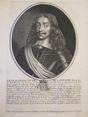 Nicholas Francis, Duke of Lorraine - Image: Nicolas François duc de Lorraine