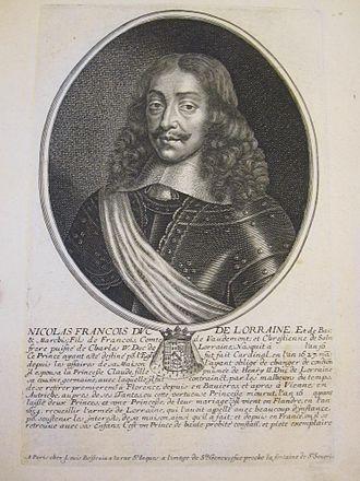 Roman Catholic Diocese of Toul - Nicholas Francis, cardinal, duke of Lorraine