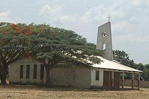 Niem (RCA) - Eglise de brousse 1