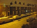 Night-time snow scene in Roman Road (2) - geograph.org.uk - 1147926.jpg