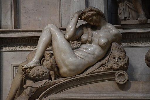 Tombadi Giuliano deMedici (Notte), Sagrestia Nuova, BasilicadiSan Lorenzo, Firenze