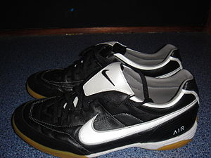 Footballshoes of the mark Nike.