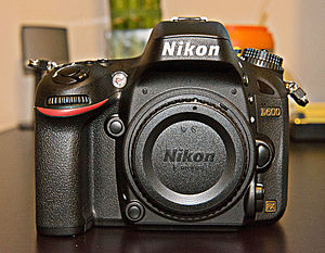 Nikon D600 - Image: Nikon D600 Front View