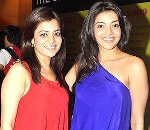 Kajal Aggarwal - Image: Nisha and Kajal Aggarwal