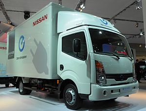 Electric truck - Nissan 2012 electric truck concept