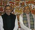 Nitish Kumar with Sushil Kumar Modi.jpg