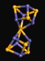 Nitrogenase P cluster A vinelandii 1M1N.png