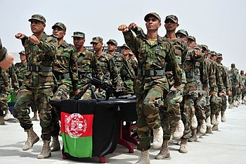 Non Commissioned Officers of the Afghan Nation...