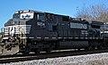 Norfolk Southern Railway - 9204 diesel locomotive (CW40-9) (north of Inaha, Georgia, USA) 1 (22813045600).jpg