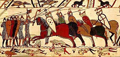 Battle of Hastings Bayeux Tapestry