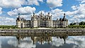 North-west facade of the Castle of Chambord 11.jpg