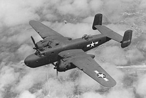 Bombing of Helsinki in World War II - An American B-25
