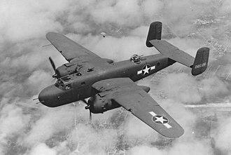 Bombing of Helsinki in World War II - An American B-25