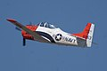 North American T-28B Trojan Navy Pull-Up TICO 13March2010 (14599503545).jpg