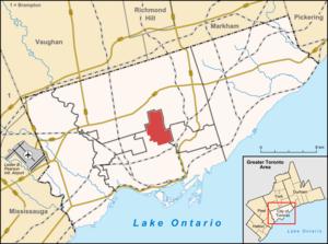 North Toronto - Image: North Toronto map