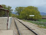 Northeast at Soldier Hollow station, Apr 16.jpg