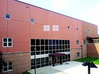 Northwestern High School (Hyattsville, Maryland) - Exterior photo of the B/G Wing