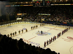 National Ice Centre - Inside the National Ice Centre before the 2007 EIHL Play Off Final
