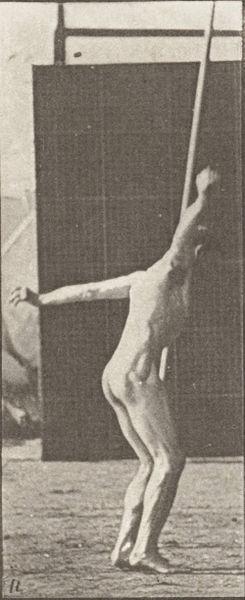 Naked Pole Vaulting Man 19