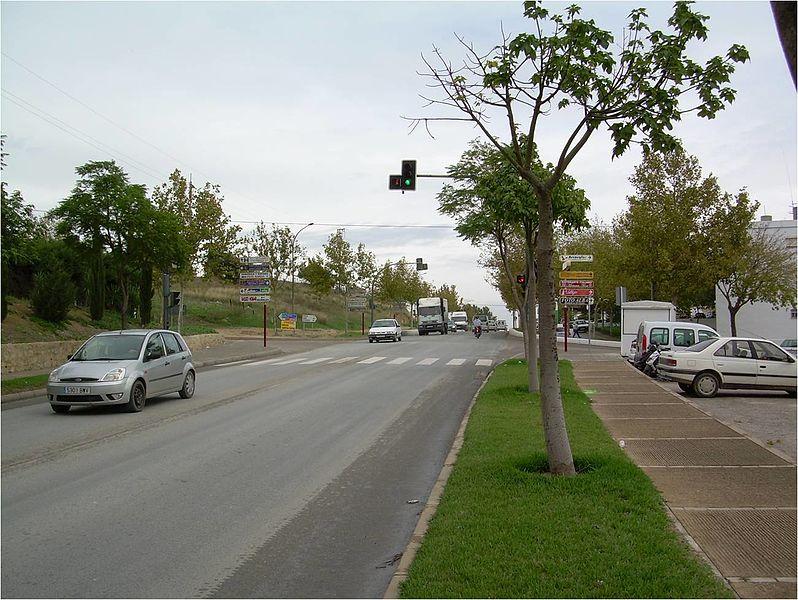 """File:Nueva autovía """"Variante de Arcos"""", lugar donde se ejecutará la Rotonda 4. - panoramio.jpg"""