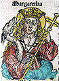 Nuremberg chronicles - Margaret (CXXVIr).jpg