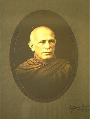 Nyanatiloka - Nyanatiloka Mahathera
