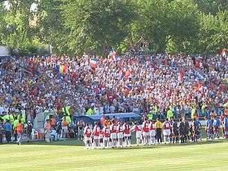ASC Oțelul Galați - Oţelul supporters.
