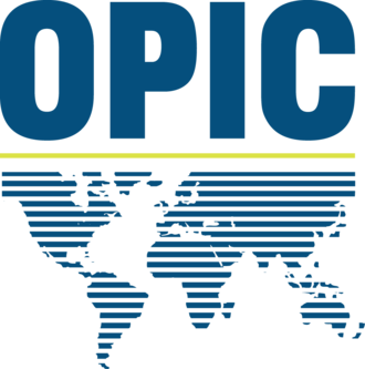 Overseas Private Investment Corporation - Image: OPIC logo 2014 cmyk