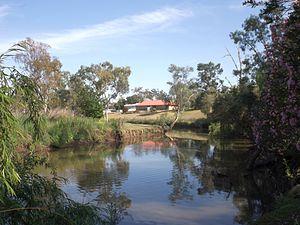 Oakey, Queensland - Oakey Creek, 2014