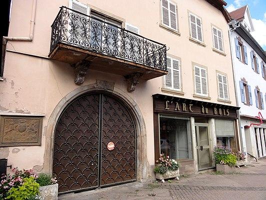 Maison au 7 place de l'Étoile à Obernai