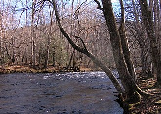 Oconaluftee (Great Smoky Mountains) - View of the Oconaluftee River within the Great Smoky Mountains National Park