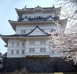 Siege of Odawara (1569) - One of Odawara's towers.