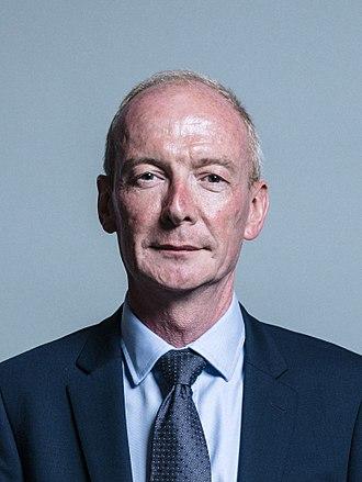 Pat McFadden - Image: Official portrait of Mr Pat Mc Fadden crop 2