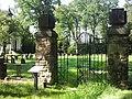 Ogrodzenie cmentarza nr 192 w Lubince 1.jpg