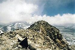 Чилійська вершина з аргентинської